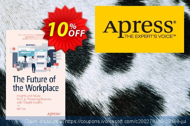 The Future of the Workplace (Fox) discount 10% OFF, 2020 Halloween offering sales