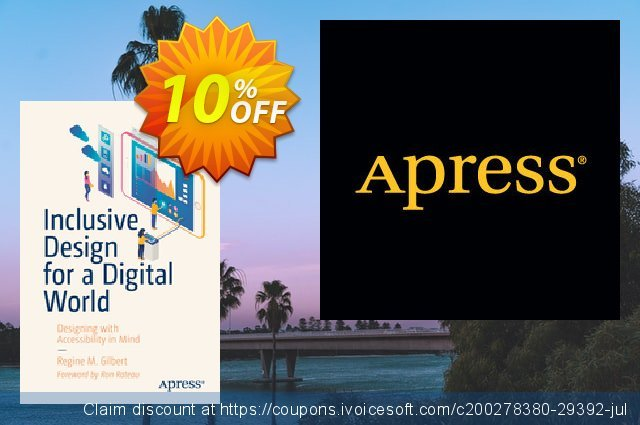 Inclusive Design for a Digital World (Gilbert) discount 10% OFF, 2020 University Student offer promo