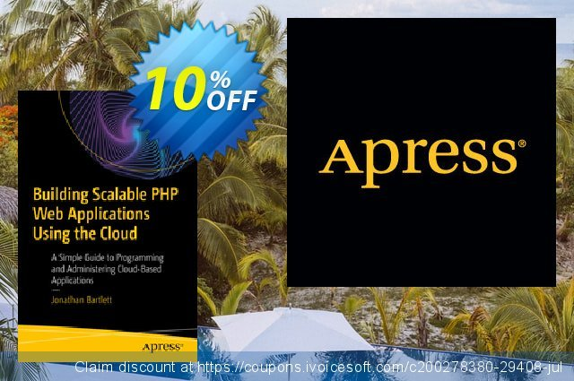 Building Scalable PHP Web Applications Using the Cloud (Bartlett) discount 10% OFF, 2020 Back to School season offering sales