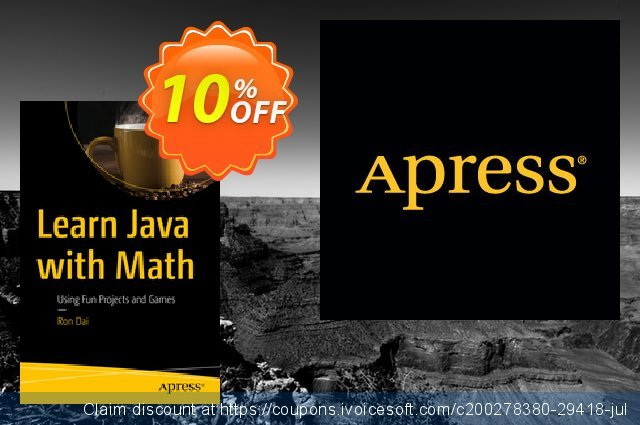 Learn Java with Math (Dai) discount 10% OFF, 2020 College Student deals offering sales