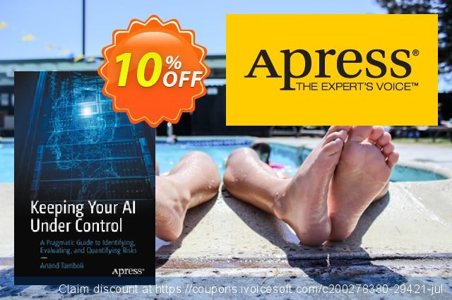 Keeping Your AI Under Control (Tamboli) discount 10% OFF, 2020 Back to School promotion promotions