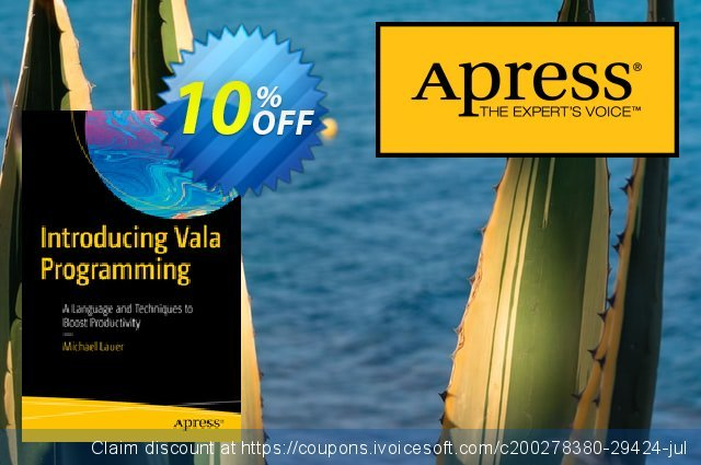 Introducing Vala Programming (Lauer) discount 10% OFF, 2020 Halloween discount