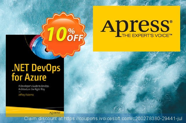 .NET DevOps for Azure (Palermo) discount 10% OFF, 2020 Back to School Promos sales