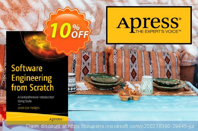 Software Engineering from Scratch (Hodges) discount 10% OFF, 2020 Back-to-School promotions offering discount