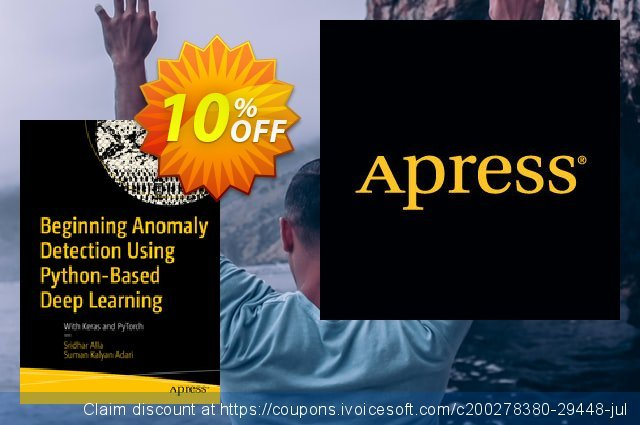 Beginning Anomaly Detection Using Python-Based Deep Learning (Alla) discount 10% OFF, 2020 Halloween promo