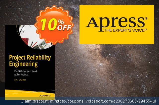 Project Reliability Engineering (Shahar) discount 10% OFF, 2020 University Student offer offering sales