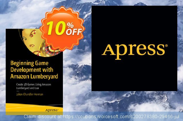 Beginning Game Development with Amazon Lumberyard (Herman) discount 10% OFF, 2020 Back-to-School promotions offering deals