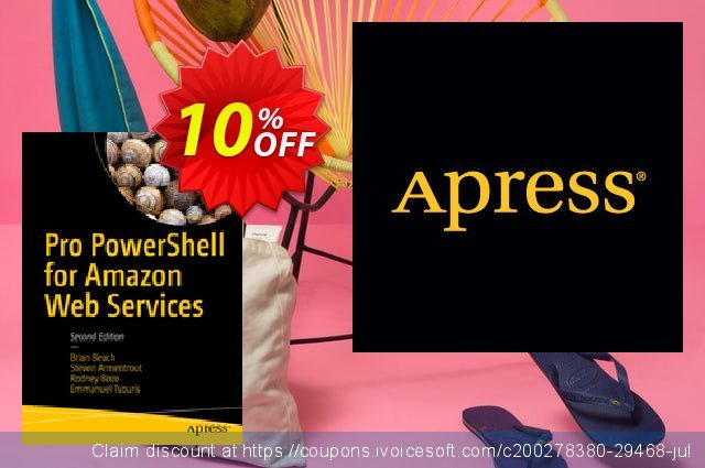 Pro PowerShell for Amazon Web Services (Beach)  최고의   세일  스크린 샷