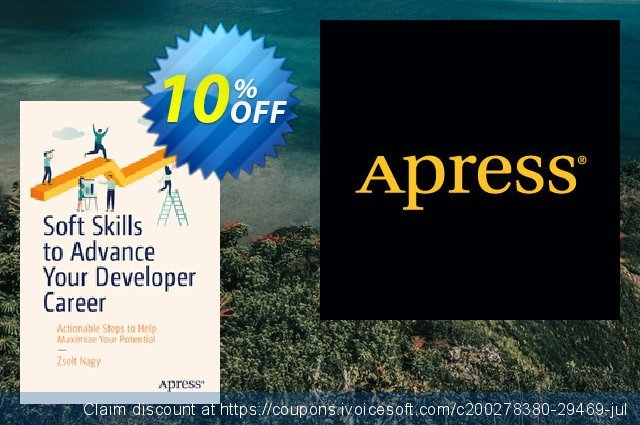 Soft Skills to Advance Your Developer Career (Nagy) discount 10% OFF, 2020 Back to School offer offering sales