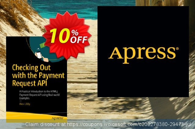 Checking Out with the Payment Request API (Libby) discount 10% OFF, 2020 Back to School season offering sales