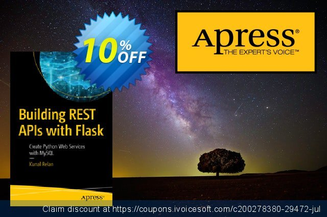 Building REST APIs with Flask (Relan) discount 10% OFF, 2020 Exclusive Student deals offering sales