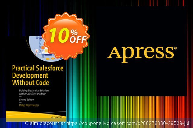 Practical Salesforce Development Without Code (Weinmeister) 대단하다  가격을 제시하다  스크린 샷