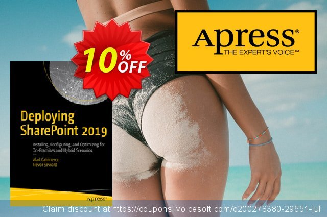 Deploying SharePoint 2019 (Catrinescu) discount 10% OFF, 2020 Halloween offering sales