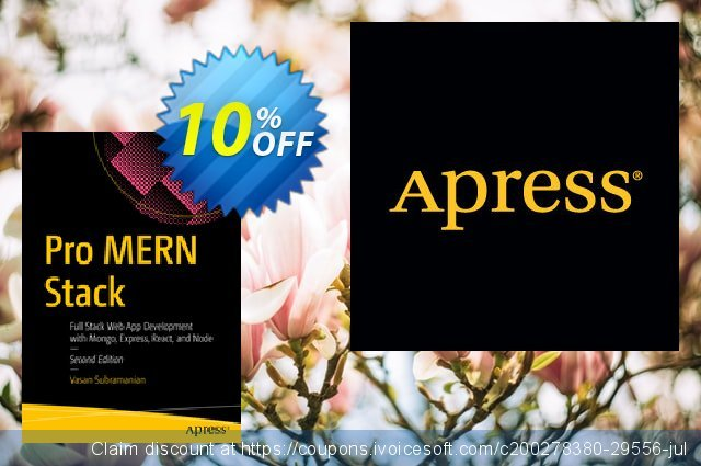 Pro MERN Stack (Subramanian) discount 10% OFF, 2020 Halloween offer