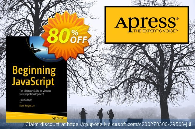 Beginning JavaScript (Ferguson) discount 80% OFF, 2020 Halloween offering sales