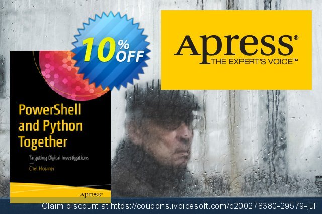 PowerShell and Python Together (Hosmer) discount 10% OFF, 2020 Halloween offering deals