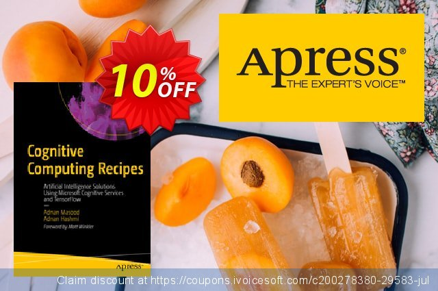 Cognitive Computing Recipes (Masood) discount 10% OFF, 2020 Halloween offering sales
