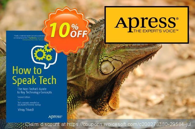 How to Speak Tech (Trivedi) discount 10% OFF, 2020 Halloween offering sales