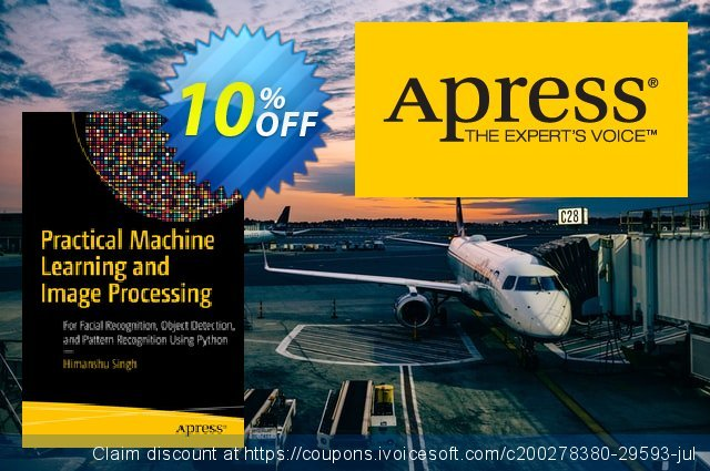 Practical Machine Learning and Image Processing (Singh) discount 10% OFF, 2020 Halloween deals