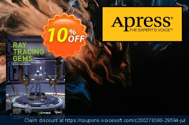 Ray Tracing Gems (Editors:                 Haines) discount 10% OFF, 2020 Halloween offer