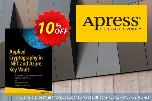 Applied Cryptography in .NET and Azure Key Vault (Haunts) discount 10% OFF, 2020 Halloween offering sales