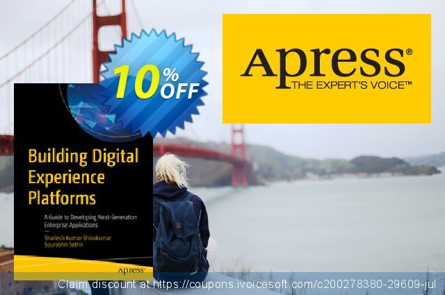 Building Digital Experience Platforms (Shivakumar) discount 10% OFF, 2020 Xmas Day sales