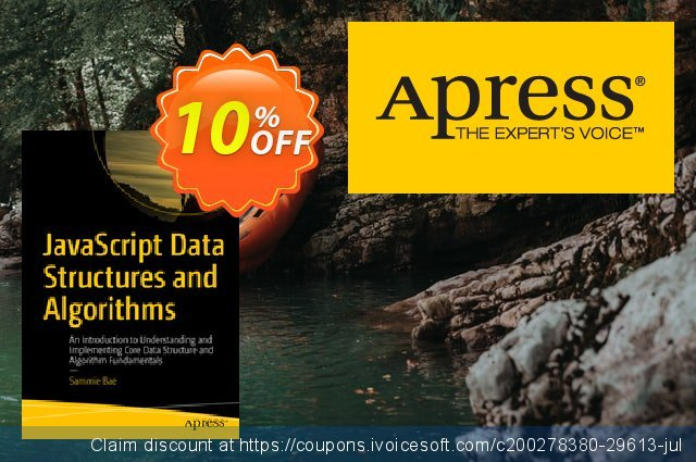 JavaScript Data Structures and Algorithms (Bae) discount 10% OFF, 2020 Halloween offer
