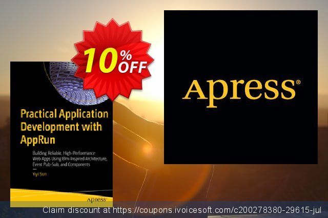 Practical Application Development with AppRun (Sun)  놀라운   제공  스크린 샷