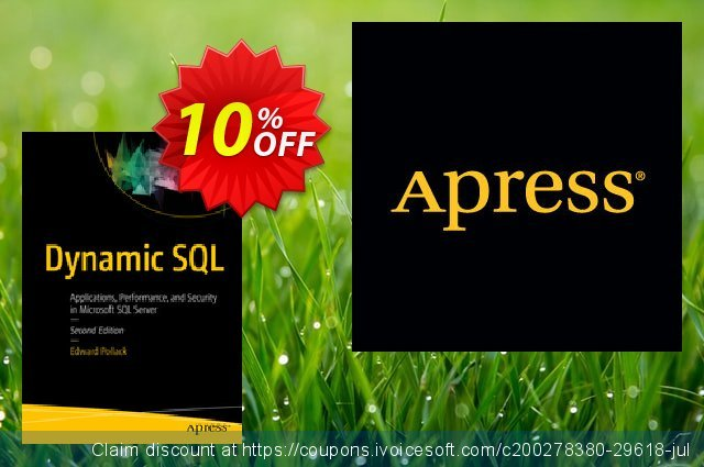 Dynamic SQL (Pollack) discount 10% OFF, 2020 Halloween promo sales