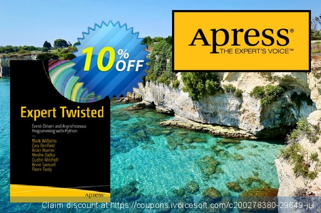 Expert Twisted (Williams) discount 10% OFF, 2020 Halloween sales