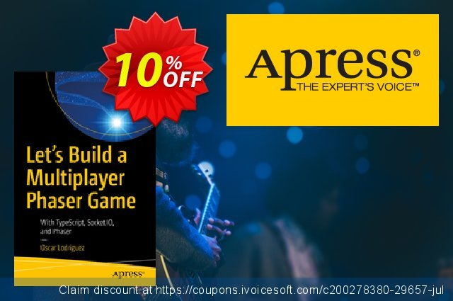 Let's Build a Multiplayer Phaser Game (Lodriguez) discount 10% OFF, 2020 Halloween promo