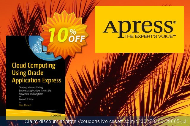 Cloud Computing Using Oracle Application Express (Ahmed) discount 10% OFF, 2020 Halloween offering sales