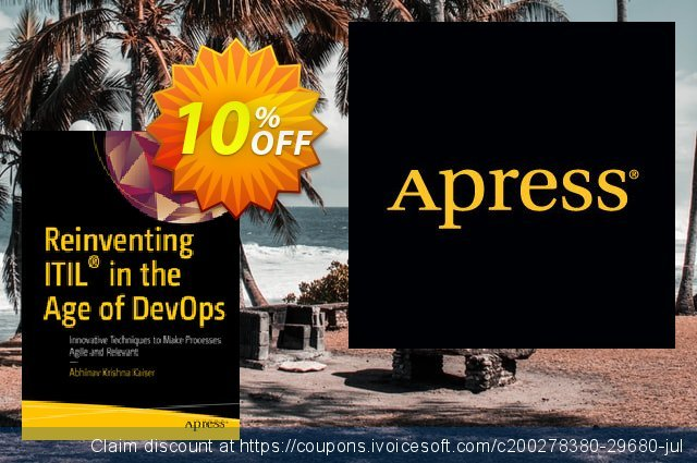 Reinventing ITIL® in the Age of DevOps (Krishna) discount 10% OFF, 2020 Halloween offering sales