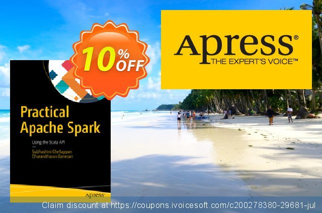 Practical Apache Spark (Chellappan) discount 10% OFF, 2020 Halloween offering sales