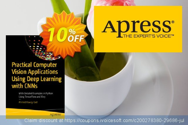 Practical Computer Vision Applications Using Deep Learning with CNNs (Gad) discount 10% OFF, 2020 Halloween promotions