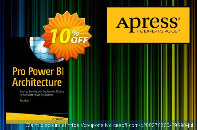 Pro Power BI Architecture (Rad) discount 10% OFF, 2020 Halloween offering sales