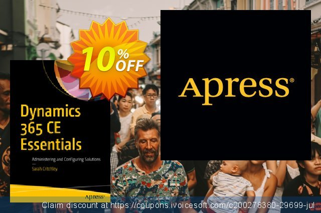 Dynamics 365 CE Essentials (Critchley) discount 10% OFF, 2020 Halloween offering sales