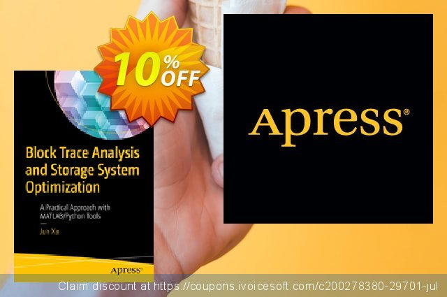 Block Trace Analysis and Storage System Optimization (Xu) discount 10% OFF, 2020 Halloween offering sales