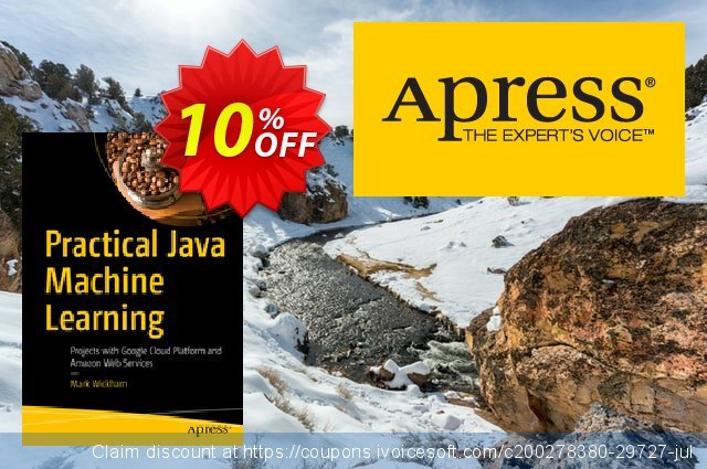 Practical Java Machine Learning (Wickham) discount 10% OFF, 2020 Halloween offer