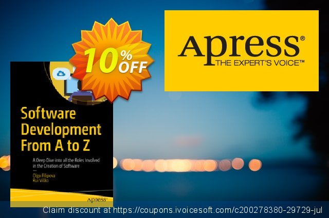 Software Development From A to Z (Filipova) discount 10% OFF, 2020 Halloween offering discount