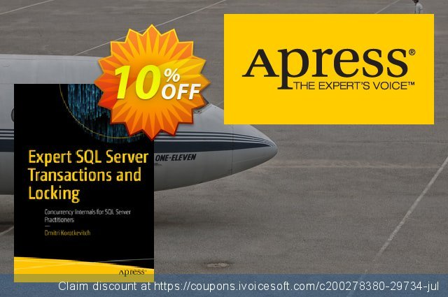 Expert SQL Server Transactions and Locking (Korotkevitch) discount 10% OFF, 2020 Halloween offering sales