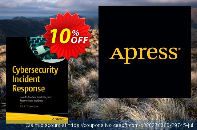 Cybersecurity Incident Response (Thompson) discount 10% OFF, 2020 Halloween deals