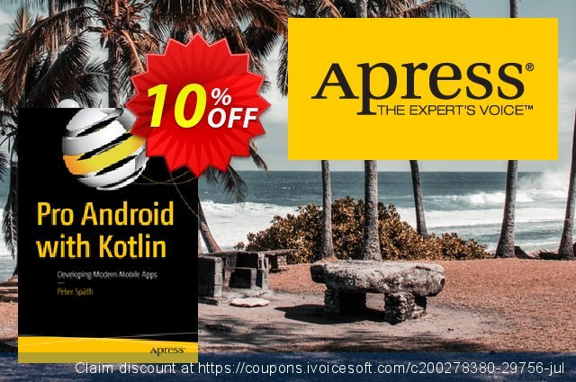 Pro Android with Kotlin (Späth) discount 10% OFF, 2020 Halloween offering sales