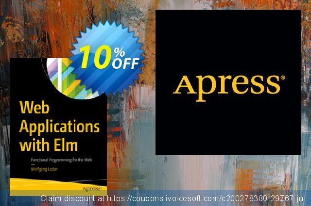 Web Applications with Elm (Loder) discount 10% OFF, 2020 Halloween offering discount