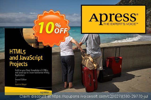 HTML5 and JavaScript Projects (Meyer) discount 10% OFF, 2021 January discounts