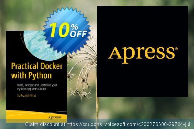 Practical Docker with Python (Bhat) discount 10% OFF, 2020 Halloween offer