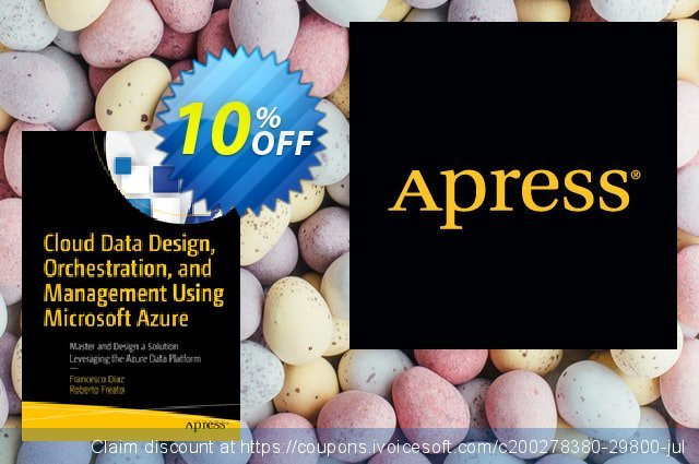 Cloud Data Design, Orchestration, and Management Using Microsoft Azure (Diaz) discount 10% OFF, 2020 Halloween promotions