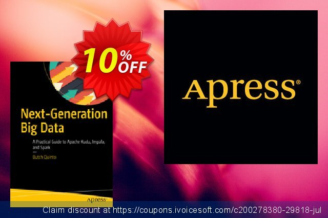 Next-Generation Big Data (Quinto) discount 10% OFF, 2020 Halloween discounts