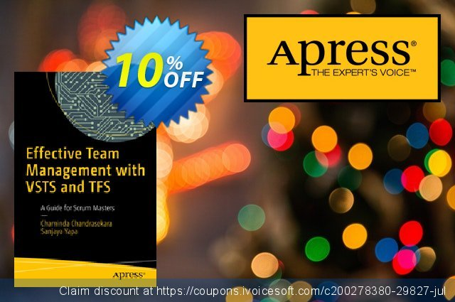 Effective Team Management with VSTS and TFS (Chandrasekara)  서늘해요   매상  스크린 샷