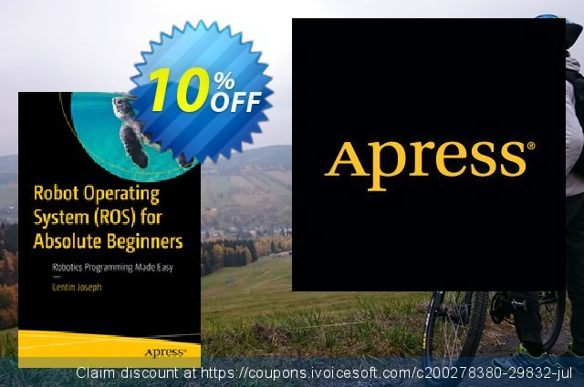 Robot Operating System (ROS) for Absolute Beginners (Joseph) discount 10% OFF, 2020 Halloween offering sales